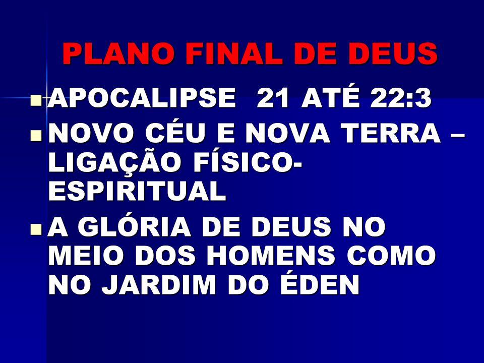 O PLANO DE DEUS PARA RESTAURAR O PRINCÍPIO ORIGINAL II CORÍNTIOS 5:18-19- RECONCILIAÇÃO HEBREUS 10:20-NOVO E VIVO CAMINHO COMO É FEITO.