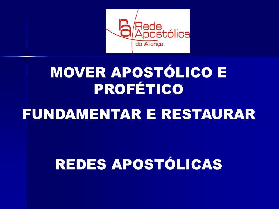 MOVER APOSTÓLICO E PROFÉTICO FUNDAMENTAR E RESTAURAR REDES APOSTÓLICAS