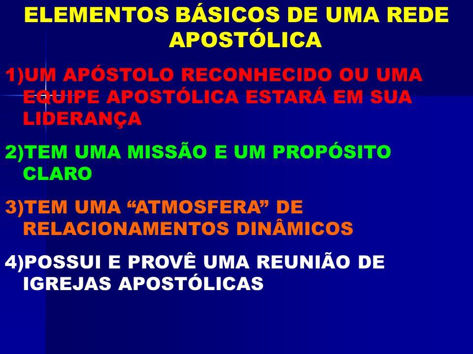 PRIORIDADE ESSENCIAS DE UMA REDE 1.RELACIONAMENTOS INTER- IGREJAS E INTER-MINISTROS 2.