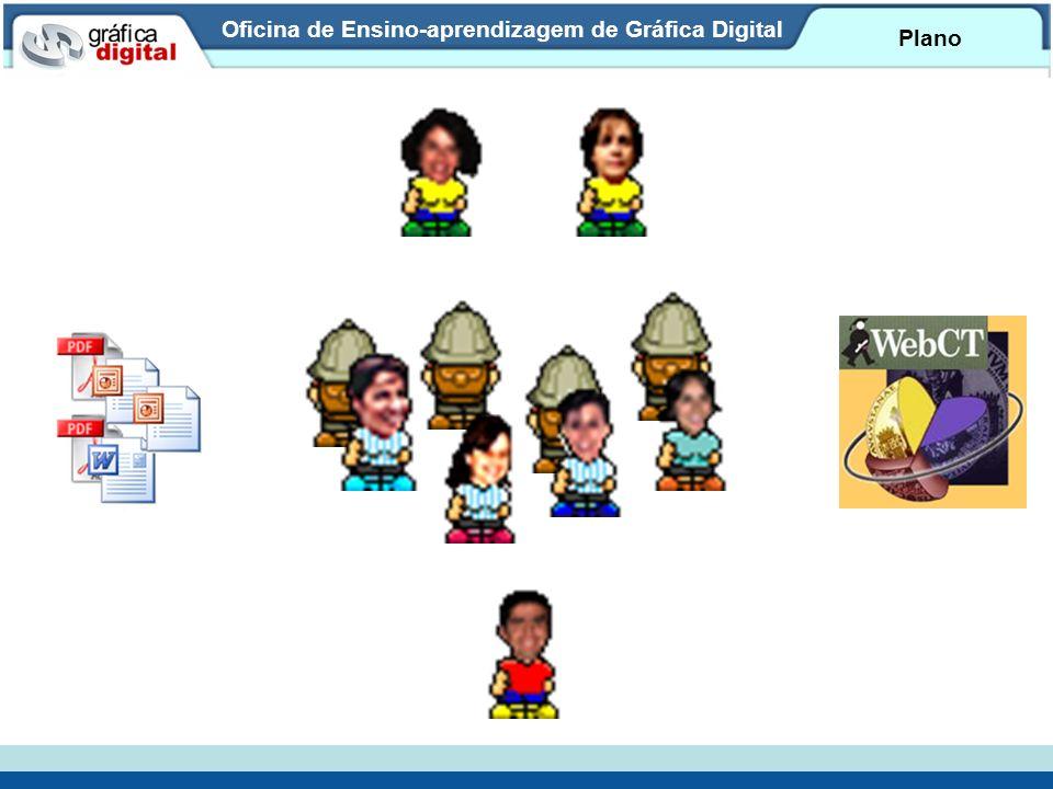 Oficina de Ensino-aprendizagem de Gráfica Digital Plano
