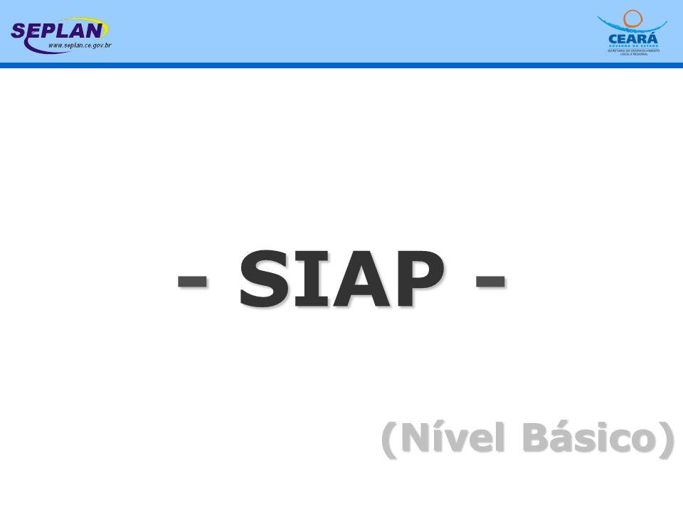 - SIAP 2006 - BÁSICO - SIAP - (Nível Básico)