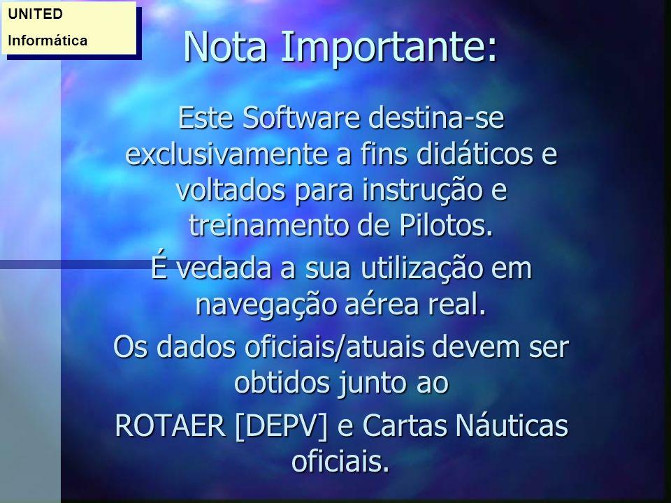 ROTAER Virtual n É o Banco de Dados das LOCALIDADES.