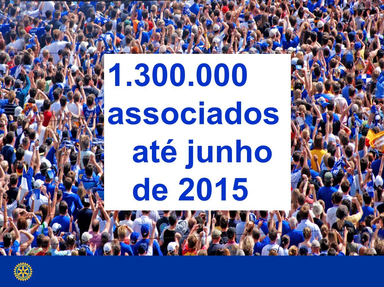 1.300.000 associados até junho de 2015