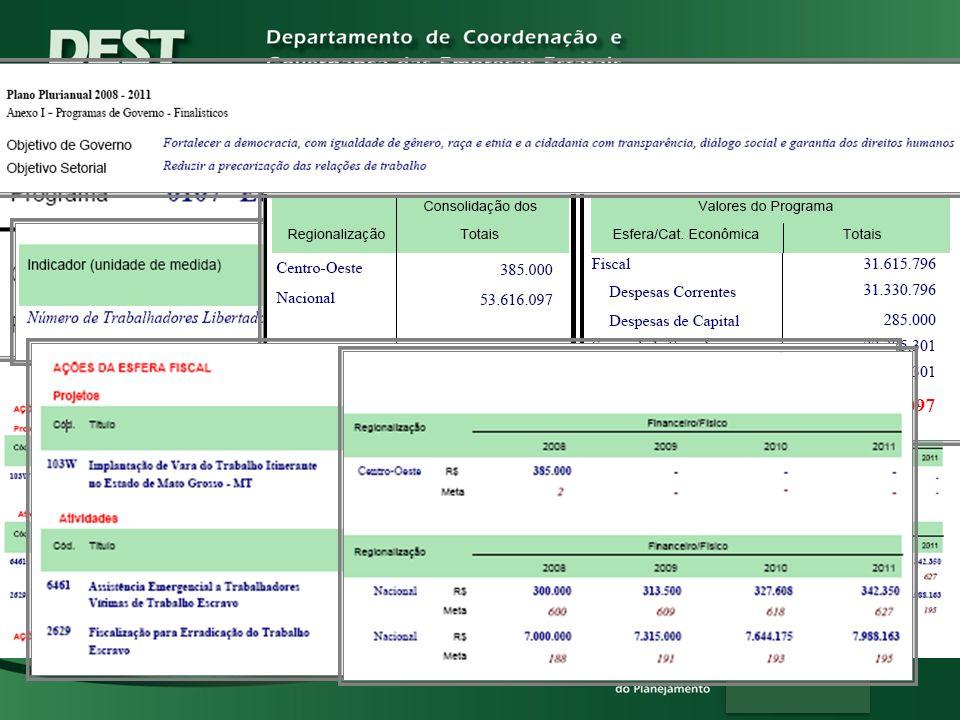 Espelho de Programa PPA 2008-2011