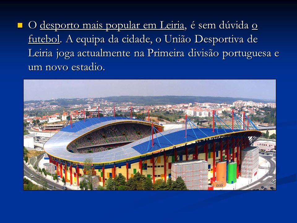 O desporto mais popular em Leiria, é sem dúvida o futebol. A equipa da cidade, o União Desportiva de Leiria joga actualmente na Primeira divisão portu