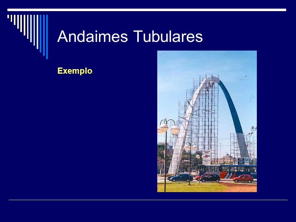 Andaimes Tubulares Exemplo