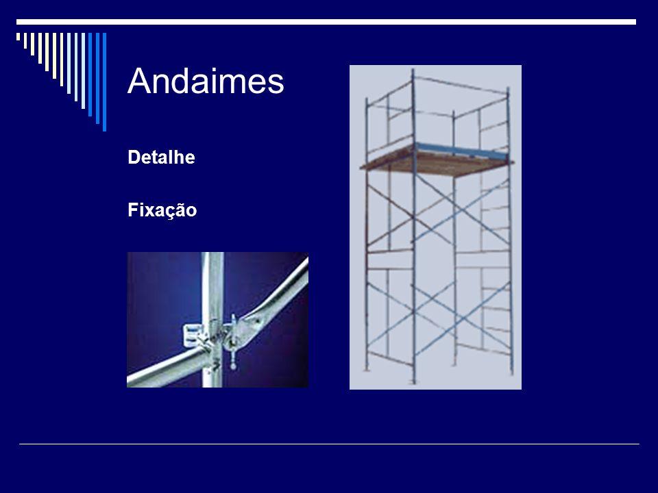Andaimes Tubulares Detalhe