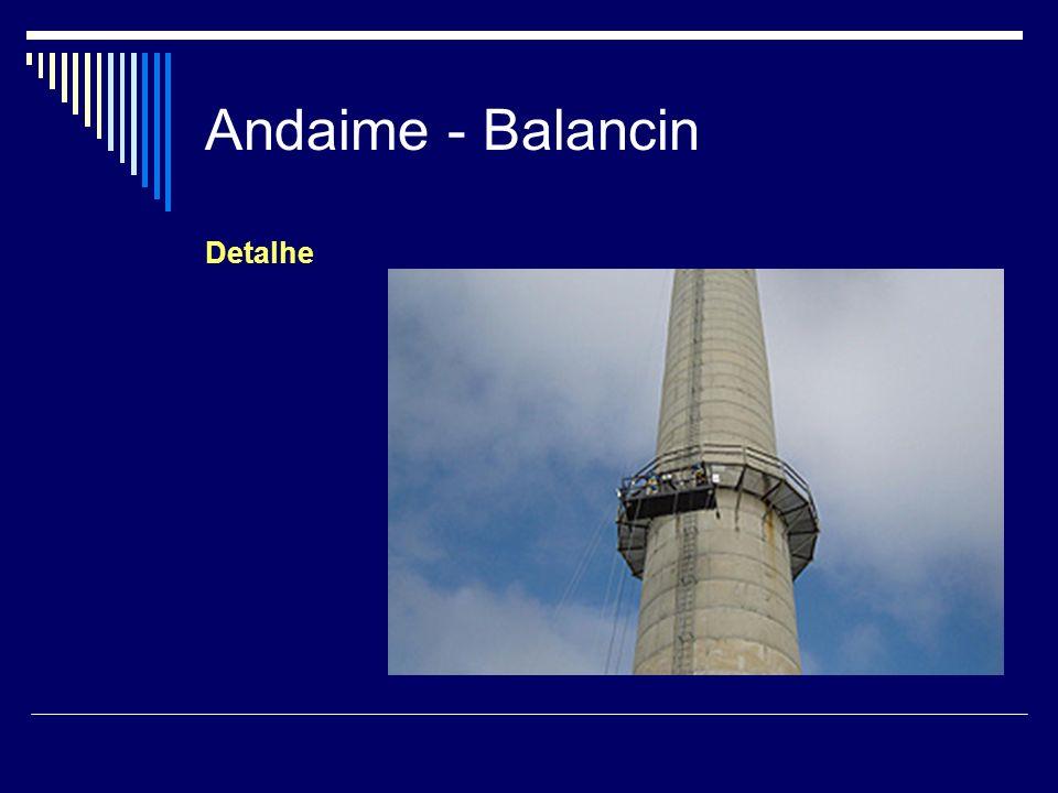 Andaime - Balancin Detalhe