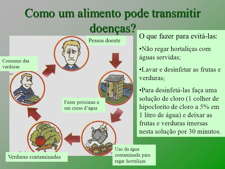 VERDURAS, FRUTAS E LEGUMES NECESSITAM DE LIMPEZA E DESINFECÇÃO ADEQUADAS.