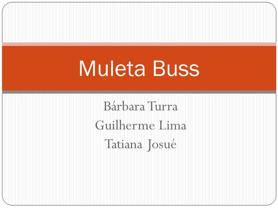 Bárbara Turra Guilherme Lima Tatiana Josué Muleta Buss
