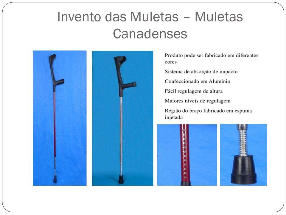 Invento das Muletas – Muleta Axilar Tradicional