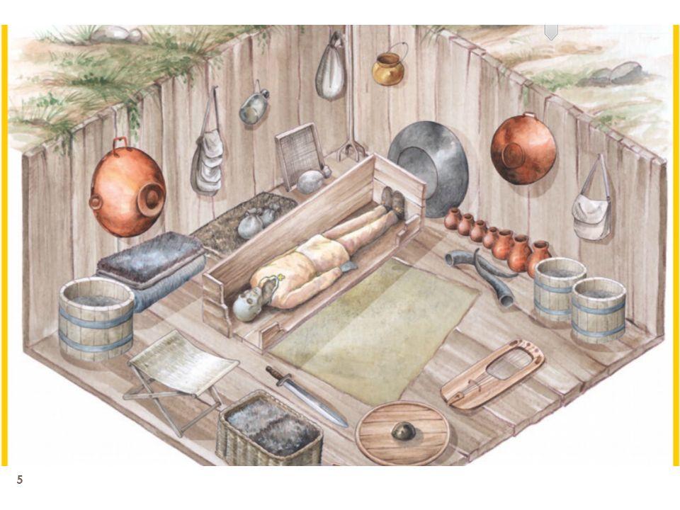 6 Um dos primeiros aspectos a chamar a atenção dos arqueólogos foi o excelente estado de conservação do conjunto de funerário.