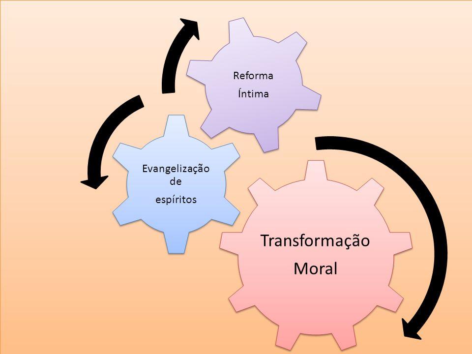 i i Transformação Moral Evangelização de espíritos Reforma Íntima