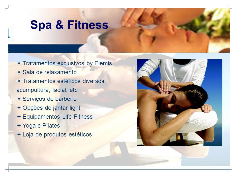 Tratamentos exclusivos by Elemis Sala de relaxamento Tratamentos estéticos diversos, acumpultura, facial, etc Serviços de barbeiro Opções de jantar li