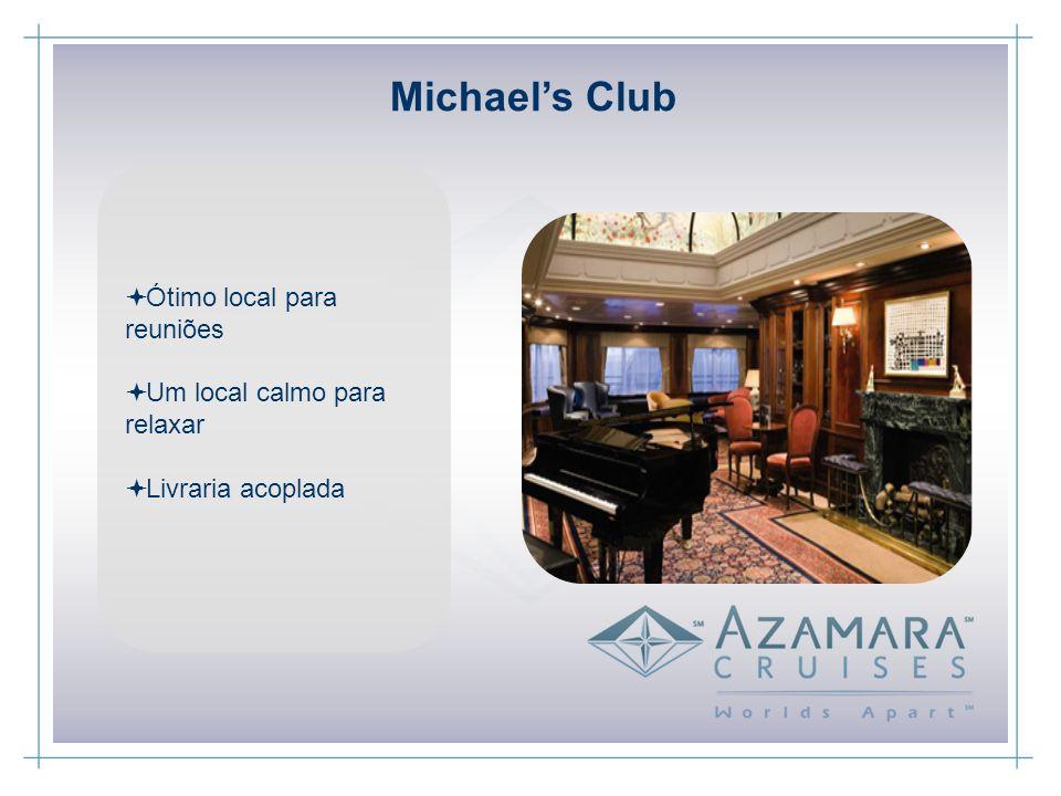 Ótimo local para reuniões Um local calmo para relaxar Livraria acoplada Michaels Club