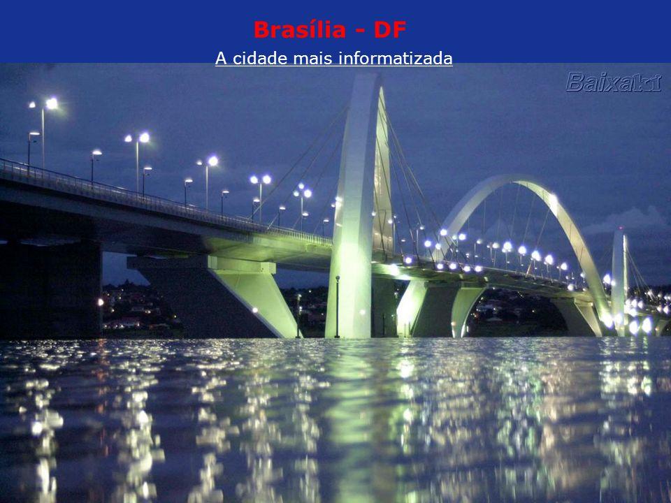 Brasília - DF A cidade mais informatizada Catedral de Brasília