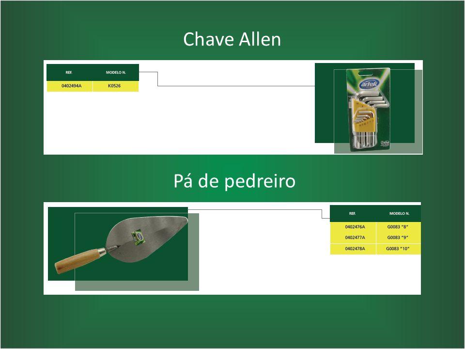 Chave Allen Pá de pedreiro