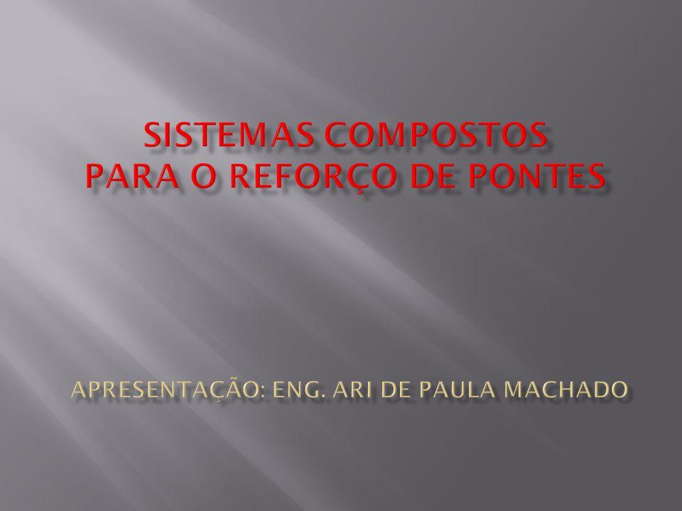 substrato de concreto pasta de re- gularização resina saturante imprimante (ponte de aderência) fibra de carbono resina saturante camada de acabamento 7
