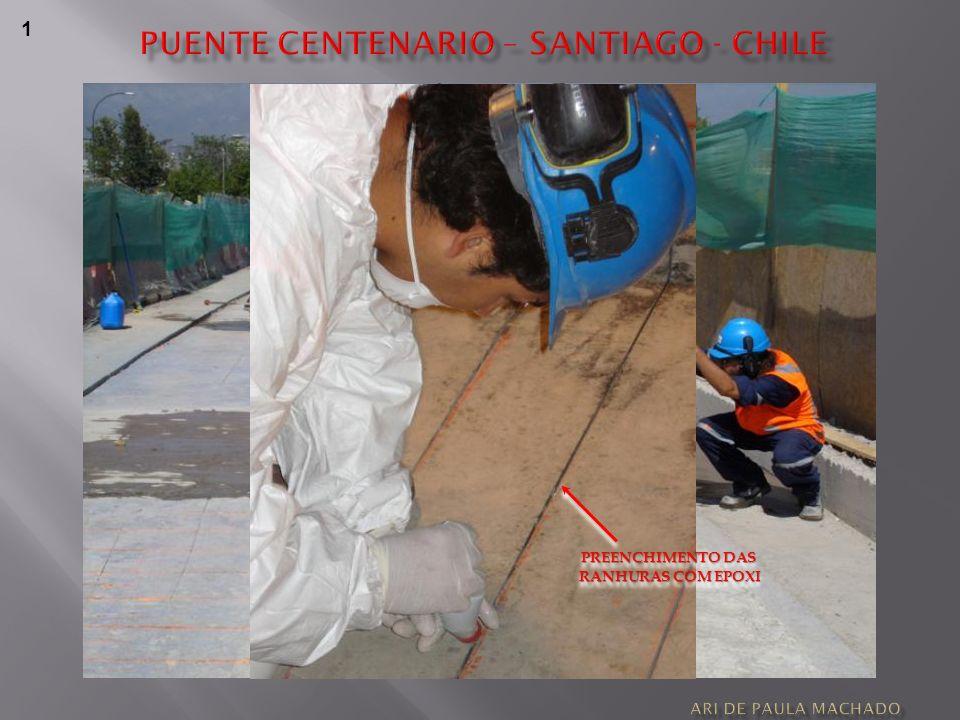 1 PREENCHIMENTO DAS RANHURAS COM EPOXI RANHURAS COM EPOXI PREENCHIMENTO DAS RANHURAS COM EPOXI RANHURAS COM EPOXI