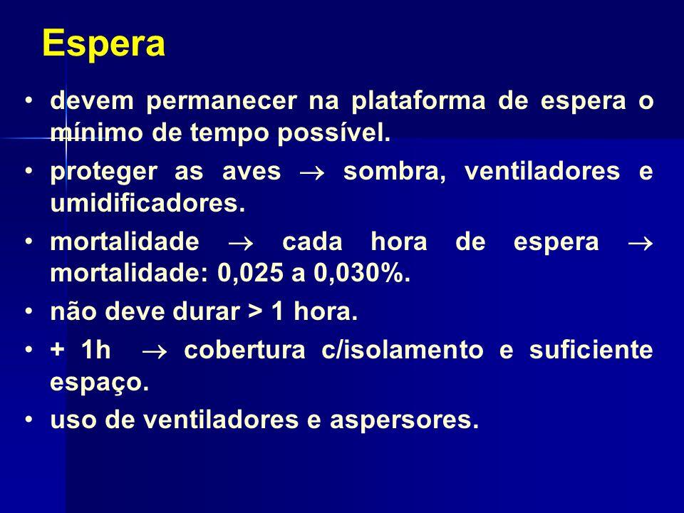 Evisceração Etapas: remoção da gl.