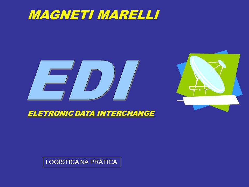 ELETRONIC DATA INTERCHANGE MAGNETI MARELLI LOGÍSTICA NA PRÁTICA
