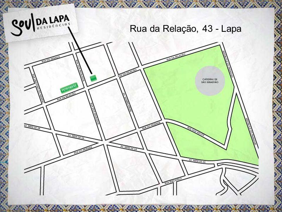 Rua da Relação, 43 - Lapa