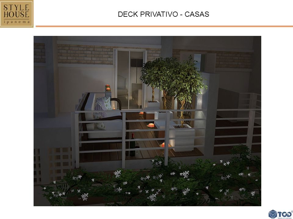 DECK PRIVATIVO - CASAS