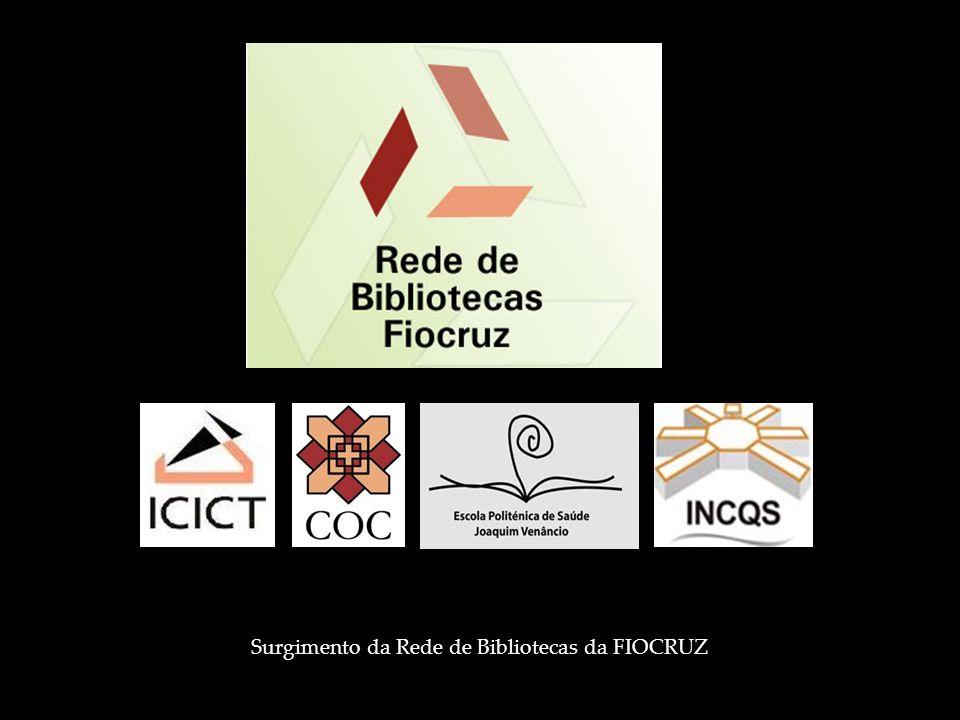 Surgimento da Rede de Bibliotecas da FIOCRUZ