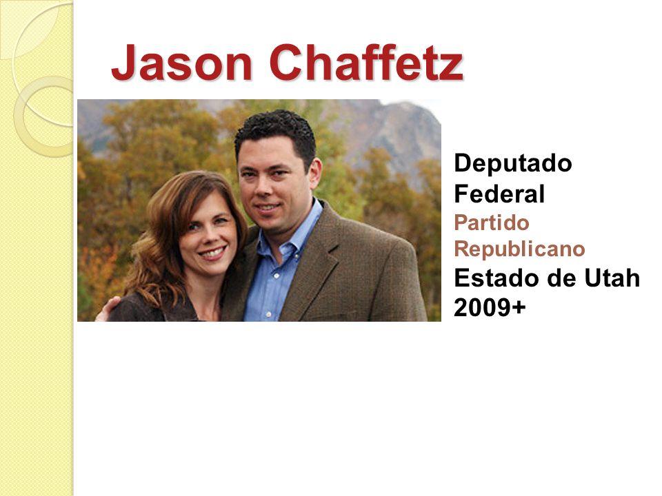 Jason Chaffetz Deputado Federal Partido Republicano Estado de Utah 2009+