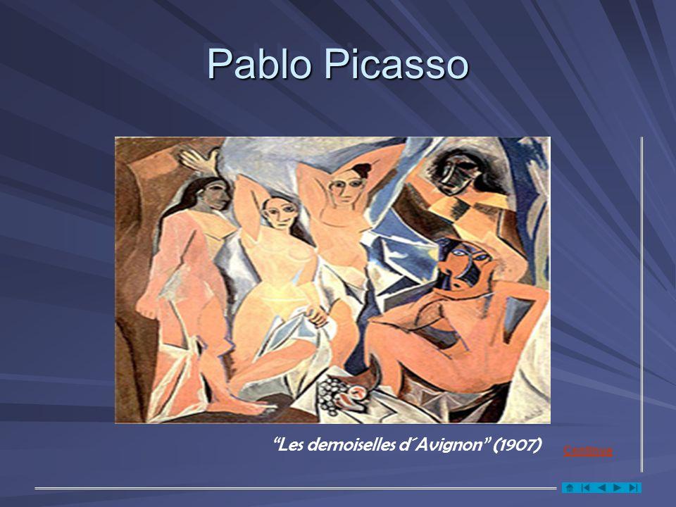Pablo Picasso Les demoiselles d´Avignon (1907) Continua