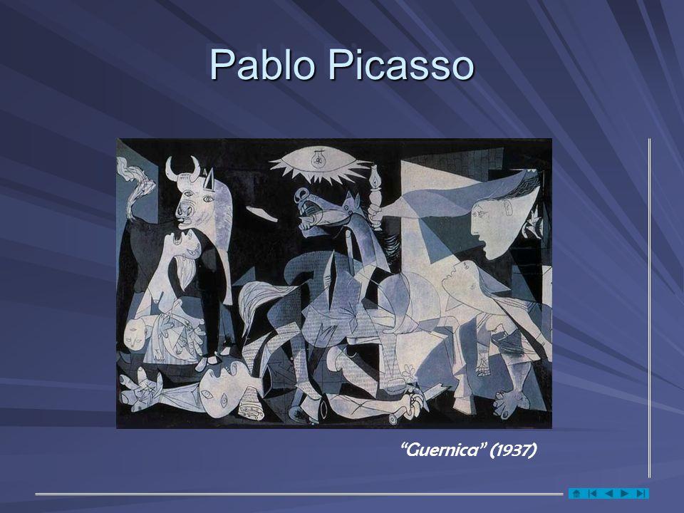 Pablo Picasso Guernica (1937)
