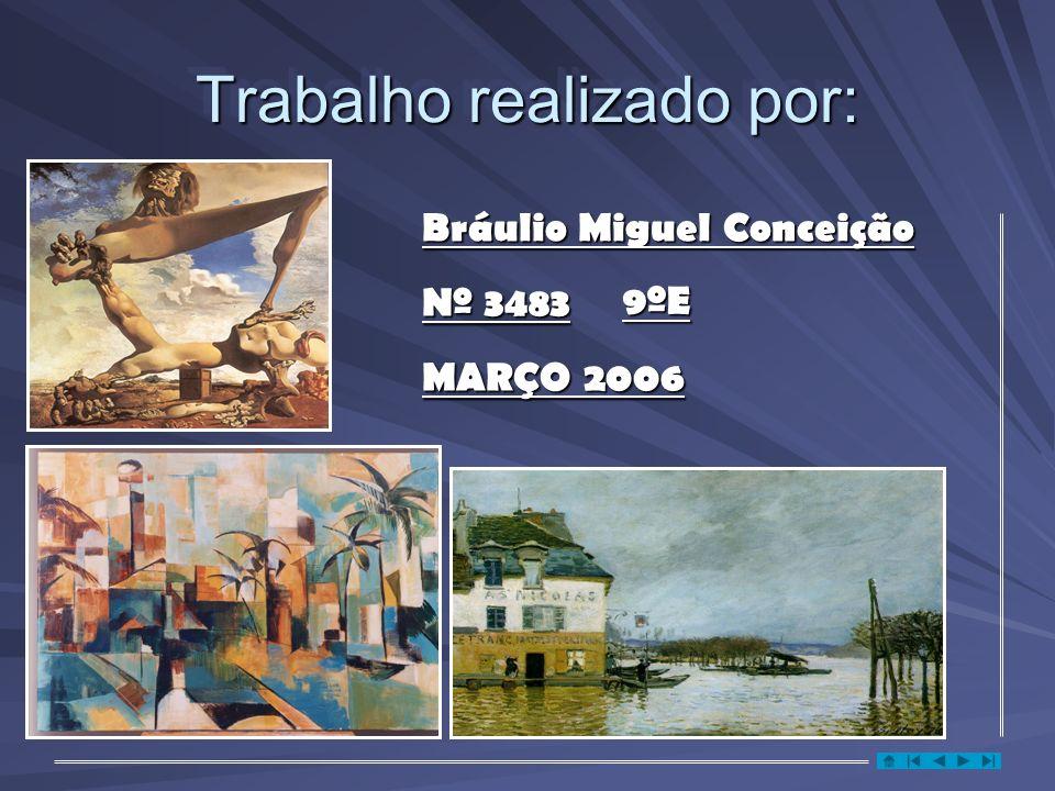 Trabalho realizado por: Bráulio Miguel Conceição 9ºE Nº 3483 MARÇO 2006