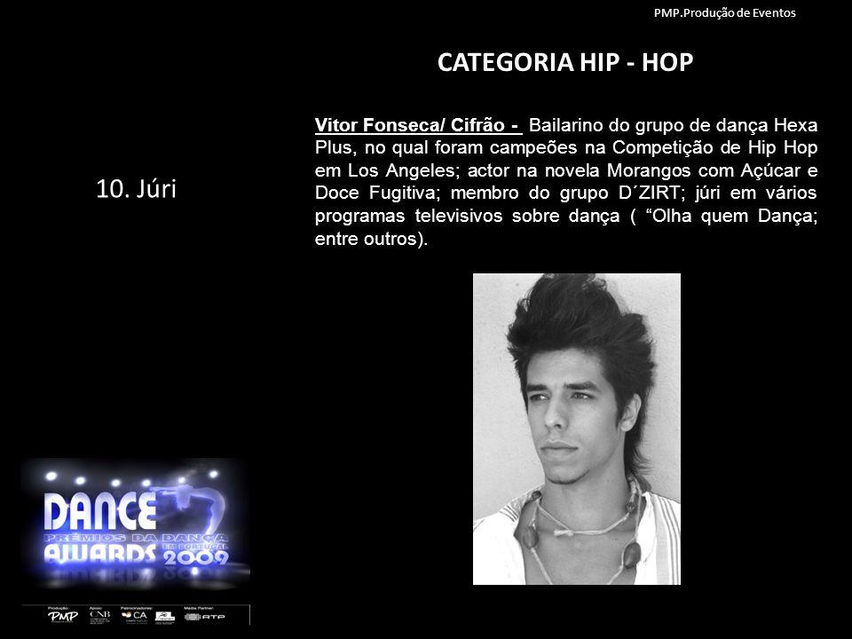 CATEGORIA HIP - HOP Vitor Fonseca/ Cifrão - Bailarino do grupo de dança Hexa Plus, no qual foram campeões na Competição de Hip Hop em Los Angeles; act