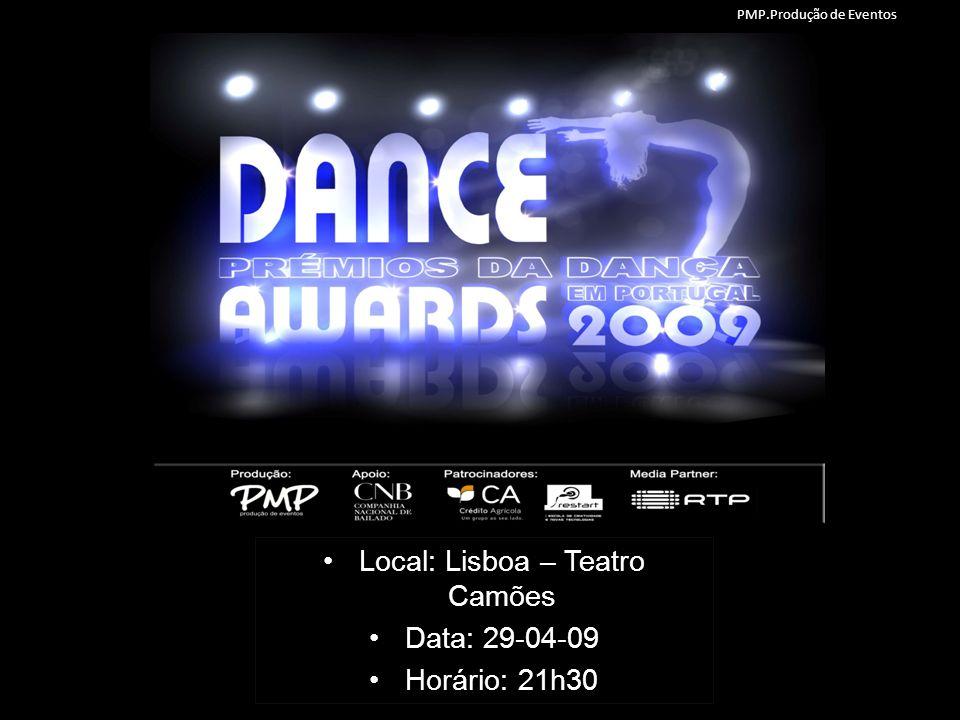 1.INTRODUÇÃO Portugal Dance Awards (Prémios da Dança em Portugal), uma iniciativa arrojada nunca realizada em Portugal.