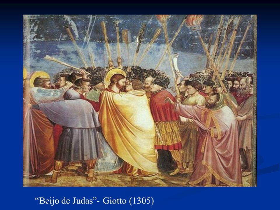 Beijo de Judas- Giotto (1305)