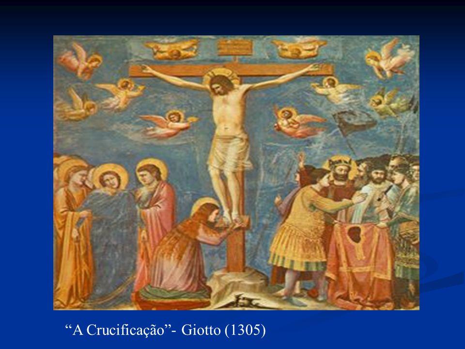 A Crucificação- Giotto (1305)