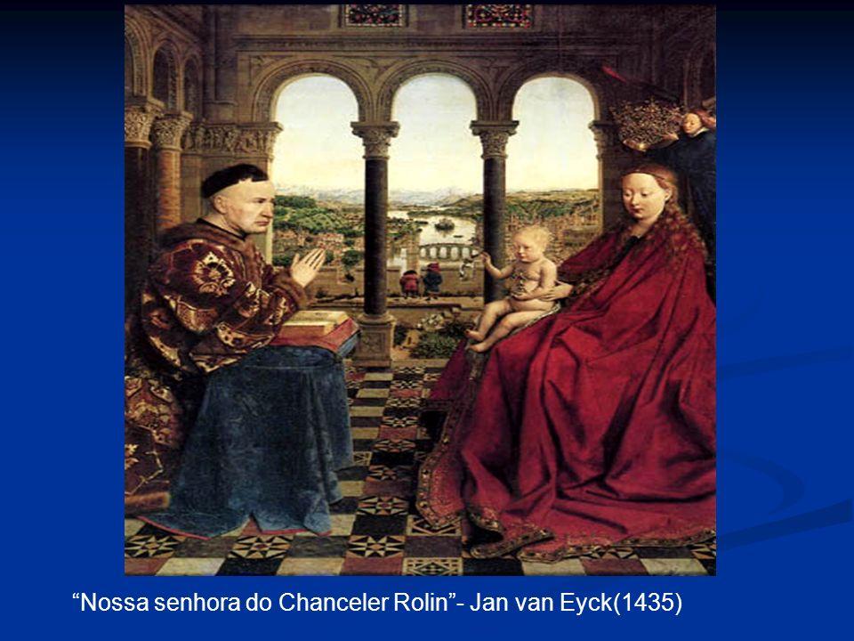 Nossa senhora do Chanceler Rolin- Jan van Eyck(1435)