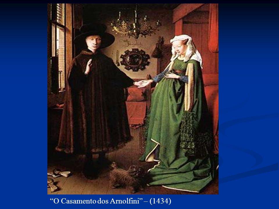O Casamento dos Arnolfini – (1434)