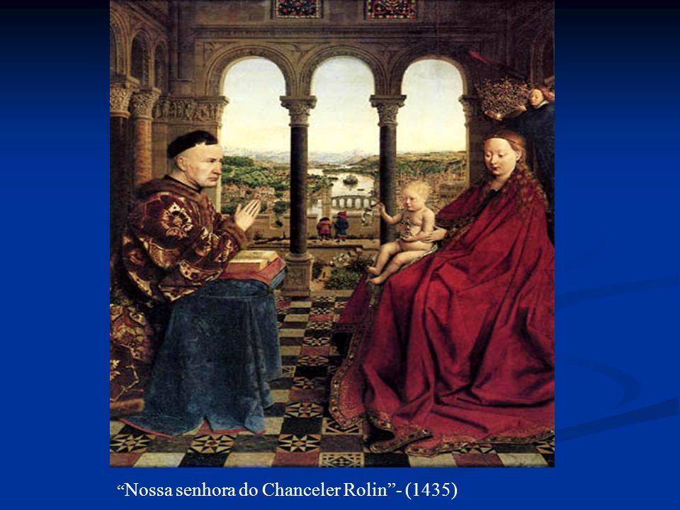 Nossa senhora do Chanceler Rolin- (1435)