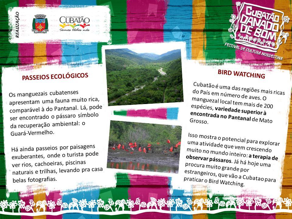 BIRD WATCHING Cubatão é uma das regiões mais ricas do País em número de aves.