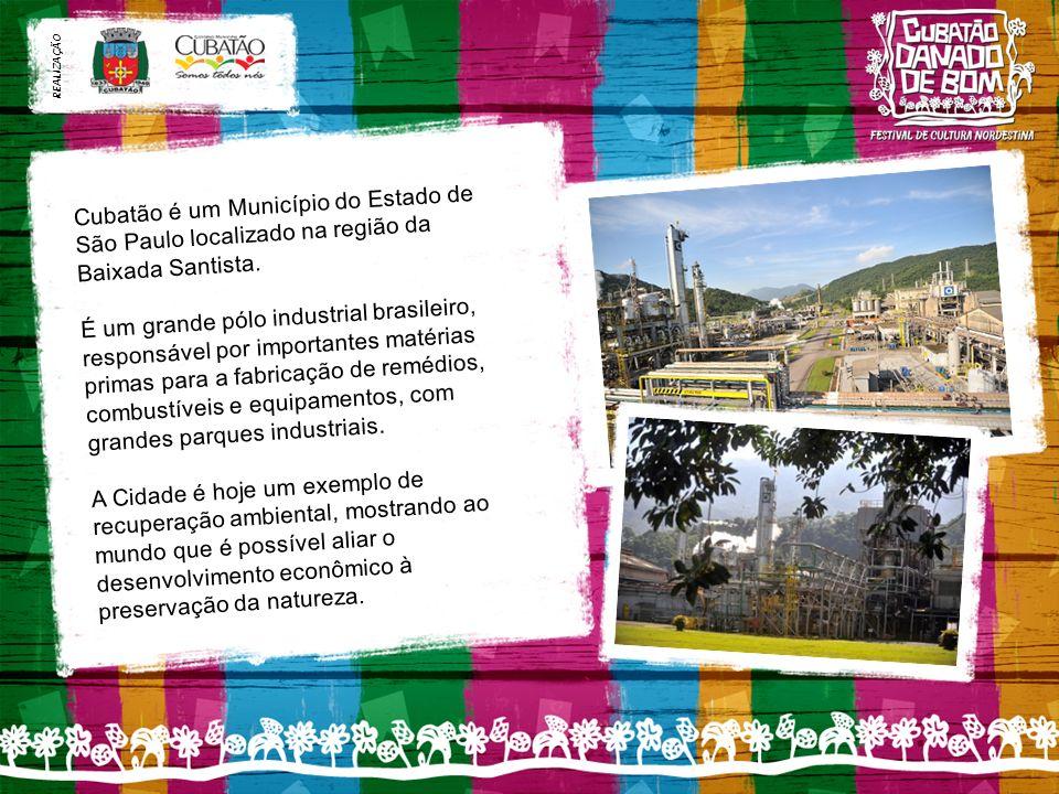 Cubatão é um Município do Estado de São Paulo localizado na região da Baixada Santista.