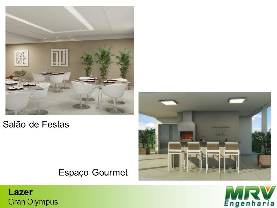 Lazer Gran Olympus Salão de Festas Espaço Gourmet