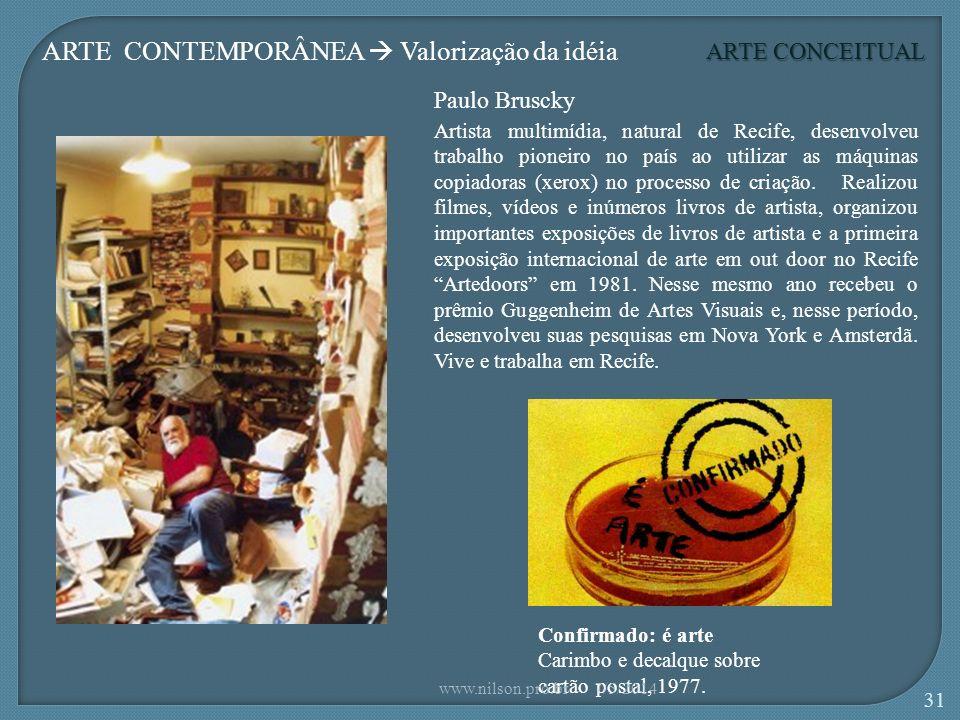 Paulo Bruscky Confirmado: é arte Carimbo e decalque sobre cartão postal, 1977.