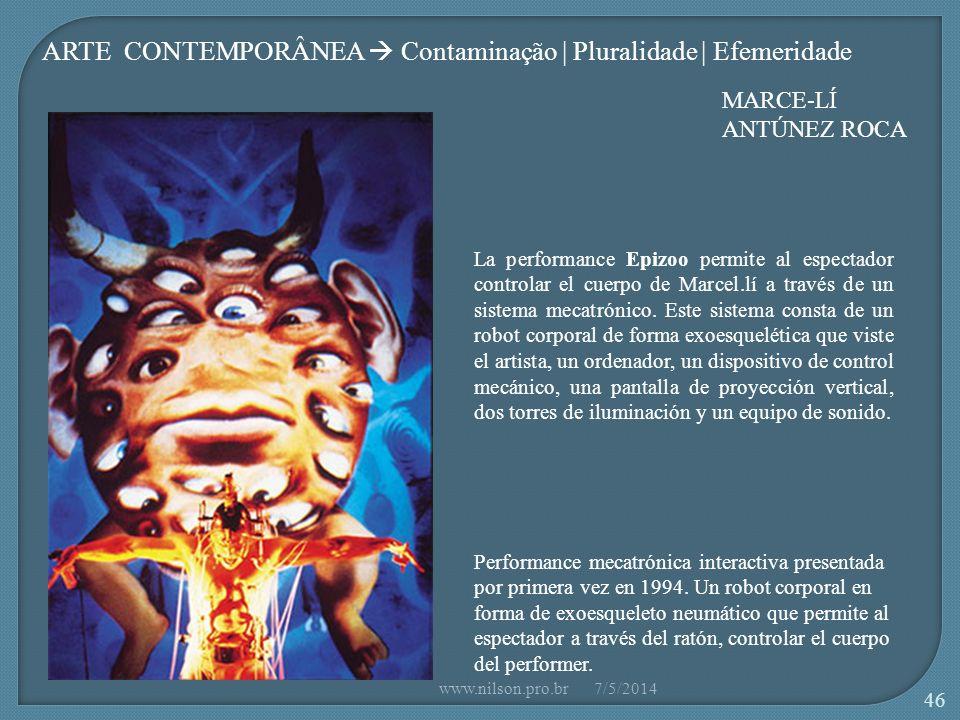 Performance mecatrónica interactiva presentada por primera vez en 1994.