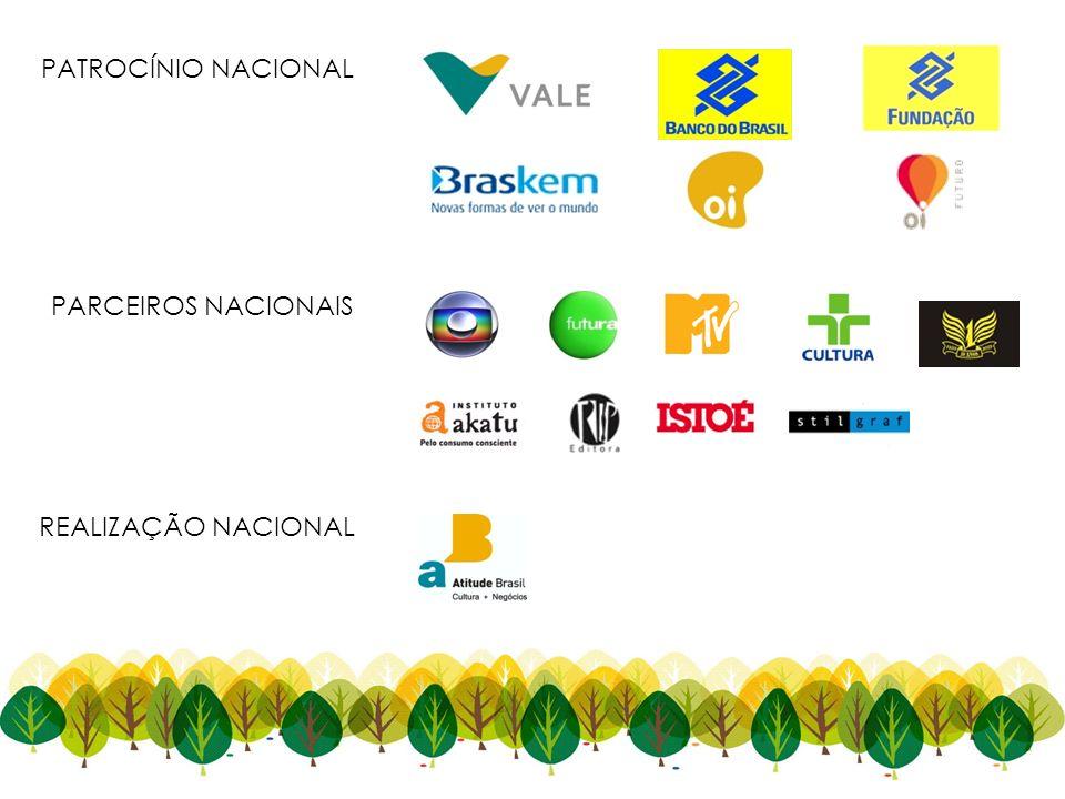 REALIZAÇÃO NACIONAL PATROCÍNIO NACIONAL PARCEIROS NACIONAIS