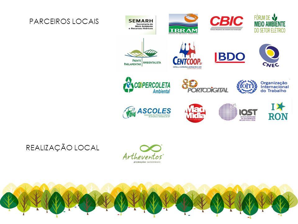 REALIZAÇÃO LOCAL PARCEIROS LOCAIS