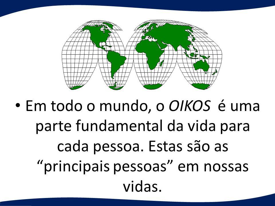 Em todo o mundo, o OIKOS é uma parte fundamental da vida para cada pessoa. Estas são as principais pessoas em nossas vidas.