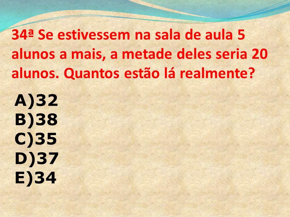 33ª Qual é a tradução de