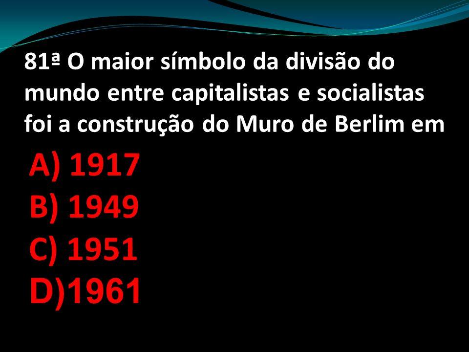 80ª Sobre a chegada dos portugueses a América é correto afirmar A)Ocorreu em 1.300 B)Ocorreu em 2.500 C)Ocorreu em 1.450 D)Ocorreu em1.500.