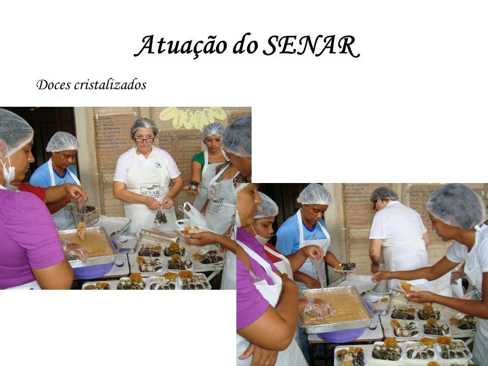Atuação do SENAR Doces cristalizados